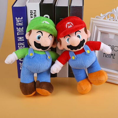 1Pcs Plush Super Mario Shape Toy Soft Animal Doll Accessories Gifts Baby For Kid