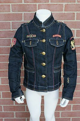 Googi Couture Jacket Denim Jean Girls Youth Size S