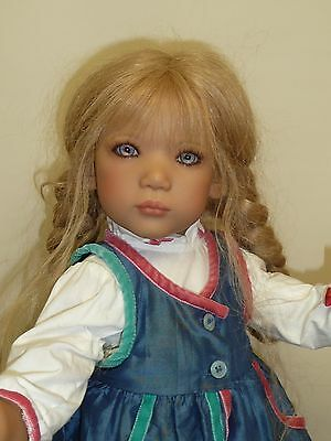 """24"""" Ullwa from Norway by Annette Himstedt 1999 with Box & COA"""