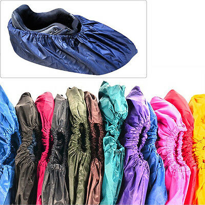 1 Pair Reusable Men Women Waterproof Shoes Cover Breathable Overshoes Multicolor