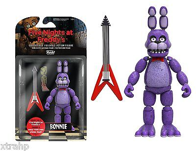 """New Authentic Five Nights At Freddy's Bonnie 5"""" Figure IN STOCK BAF Spring Trap"""