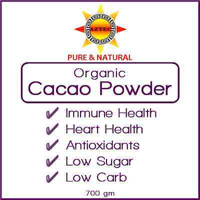 Cacao Powder Organic Superfood 700gm