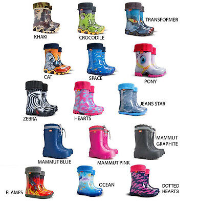 New Wellies for Kids Waterproof Wellington Boots for Boys and Girls Outdoor UK
