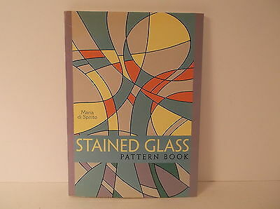 2003 Sterling Maria Di Spirito Stained Glass Pattern Book