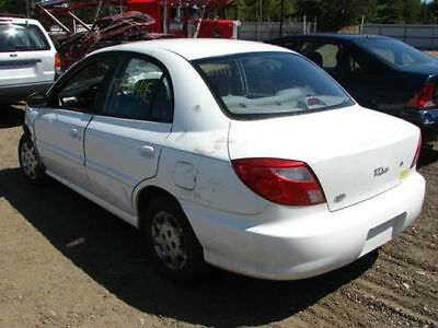 2000-2005 Kia Rio Right Rear Passenger Side Door Window Glass Tinted