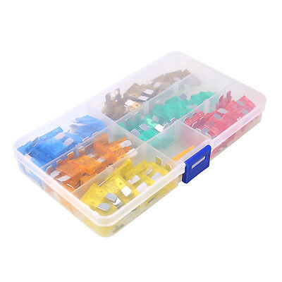 120pcs Assorted Automotive Blade Fuse Set Kit for Car Auto Van Motorcycle Boat