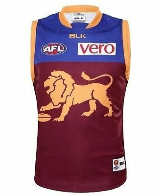 Brisbane Lions 2016 AFL Home Guernsey Adults and Kids Sizes Available BNWT