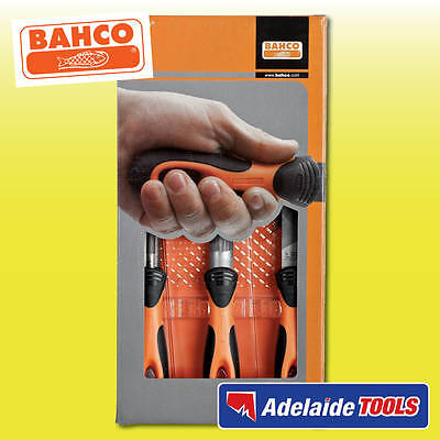 Bahco 3 Piece Ergo Hand File Set - 1-473-08-2-2