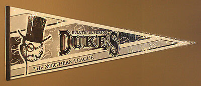 Minnesota Duluth Superior Dukes Northern Leagues Gray 30x12 Pennant