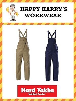 Hard Yakka Bib and Brace Overalls Y01010 NEW WITH TAGS!