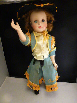 """Vintage 1950's American Character Sweet Sue Annie Oakley Doll - 18"""" ARTICULATED"""