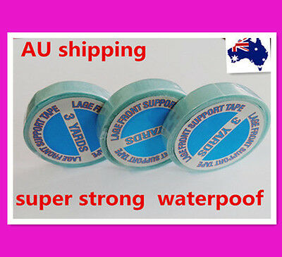 SUPER STRONG US BLUE DOUBLE SIDED SIDE TAPE for TAPE/ SKIN WEFT HAIR EXTENSIONS