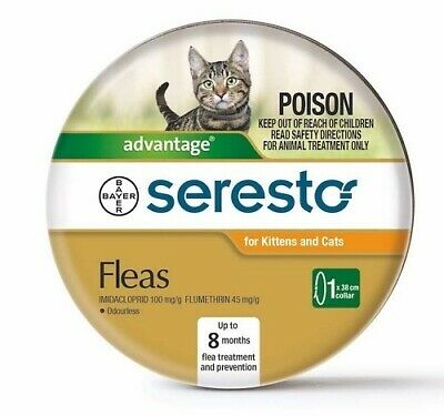 Advantage  Seresto Flea Collar for Cats