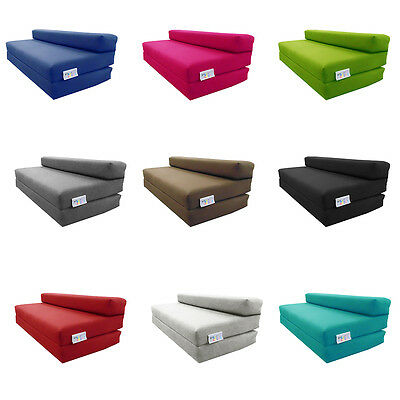 MyLayabout Double Kids Z Bed/Fold Out Spare Guest Bed Sofa/Chair/Futon/Mattress