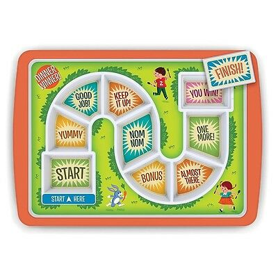Fred Dinner Winner Plate Fussy Kids Fun Eating Childrens Game Board Novelty