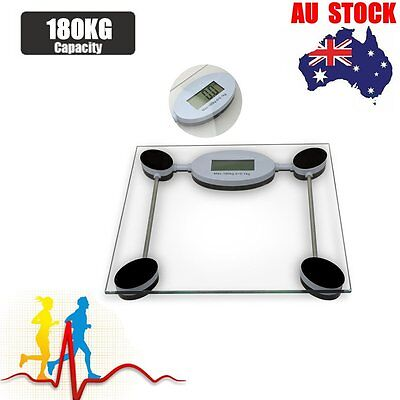 New Lose Fat Glass Platform Weight Body Scales LCD Digital Electronic Bathroom