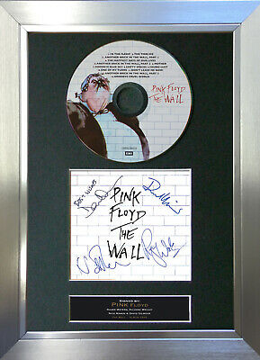PINK FLOYD The Wall Signed Autograph CD & Cover Mounted Print A4 no13