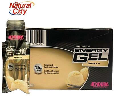 ENDURA SPORTS ENDURA SPORTS ENERGY 20 X GELS+Free Endura Drink Bottle Valued $10