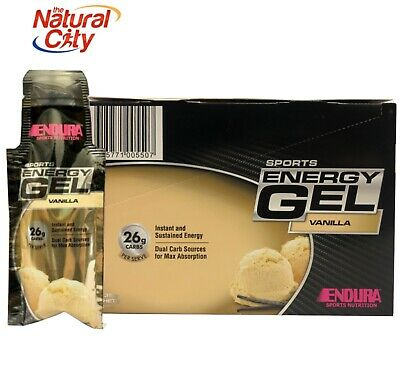 Endura Sports Endura Sports Energy Gel 20 X Gels Concentrated Energy Fuel