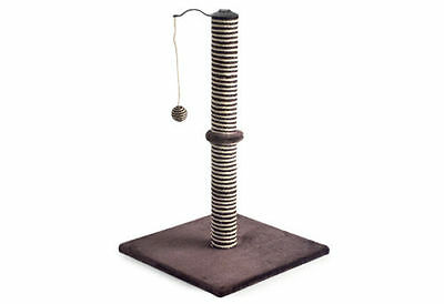 Ancol Acticat Premo XL Cat Scratch Post & Activity Centre Brown New