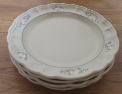 Pfaltzgraff HEIRLOOM   Dinner Plates   Set of 4     Made in the USA