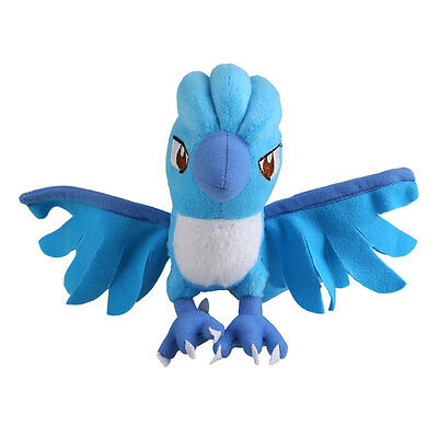 Cartoon Pokemon Anime Articuno Plush Stuffed Doll Figure Toys Gifts For Friends