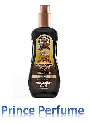AUSTRALIAN GOLD DARK TANNING ACCELERATOR SPRAY WITH INSTANT BRONZER - 237 ml