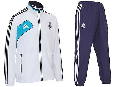 adidas Real Madrid Presentation Suit Tracksuit W40454~Mens~Football~Sale~Soccer