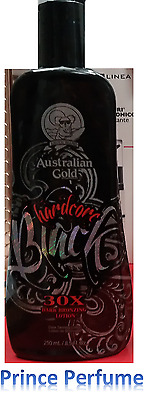 AUSTRALIAN GOLD HARDCORE BLACK 30X DARK BRONZING LOTION - 250 ml