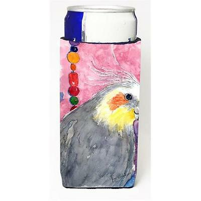 Carolines Treasures Bird Cockatiel Michelob Ultra s For Slim Cans 12 oz.