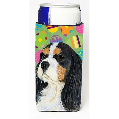 Cavalier Spaniel Easter Eggtravaganza Michelob Ultra s For Slim Cans 12 oz.