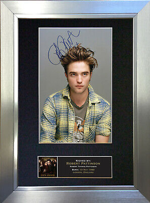 ROBERT PATTINSON Signed Autograph Mounted Reproduction Photo A4 Print no27