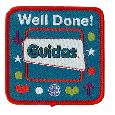 Guide Well Done Cloth Badge Guides Uniform New