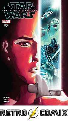 Marvel Star Wars The Force Awakens Adaptation #4 First Print New/unread