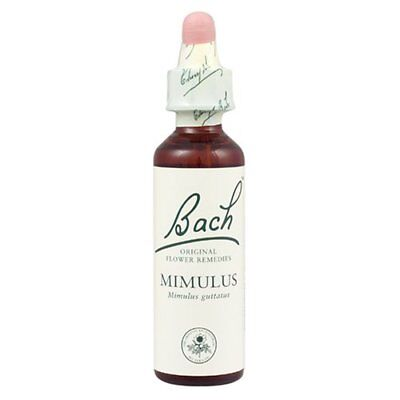 Bach Original Flower Remedies Mimulus 20ml expires 2019
