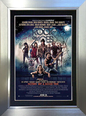 ROCK OF AGES Signed Autograph Mounted Reproduction Photo A4 Print no135