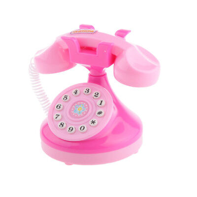 Play House Mini Telephone Child Kids Communication Entertainment Toys Gift