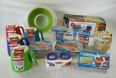Wholesale Lot of 90 Kitchen Packaged Storage Containers Noodle Makers Brand New