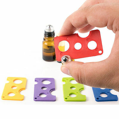 7 Color  Essential Oil Opener Key Tool Remover For Roller Balls and Caps Bottles