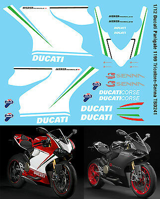 1//12 Honda CBR 1000RR-R SBK 2020 Bautista Haslam Conversion Decals Decal TBD415