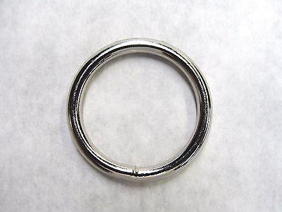 "Stainless Steel O-rings welded high quality 3/4"" 1"" 1-1/4"" 1-1/2"" 1-3/4"" 2"" Ring"