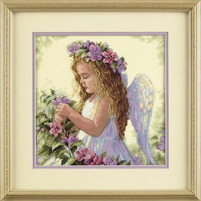 Dimensions - Counted Cross Stitch Kit - Passion Flower Angel - D35229