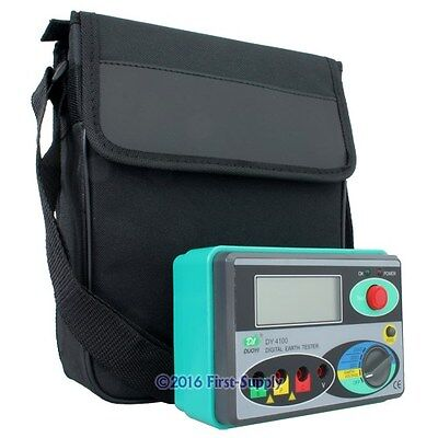 NEW Digital Earth Ground Insulation Resistance Tester Meter High-Performance
