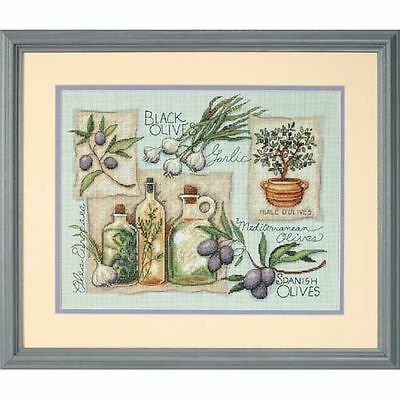Dimensions - Counted Cross Stitch Kit - Taste of the Mediterranean - D35196