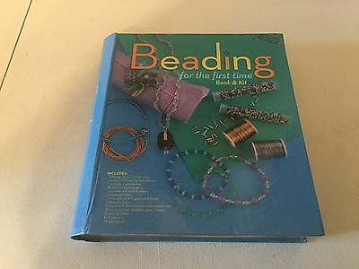BEADING For The First Time: Book And Kit