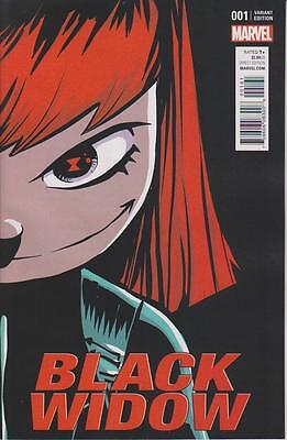 Black Widow #1 (2016) Marvel Comics Skottie Young Variant