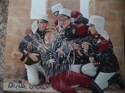 Carry On Follow That Camel Angela Douglas Hand Signed Photo + Cast