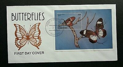 Lesotho Butterflies 1997 Insect Butterfly (stamp FDC)