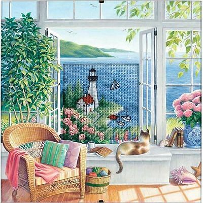 Dimensions - Counted Cross Stitch Kit - Beach Tranquility - D73262