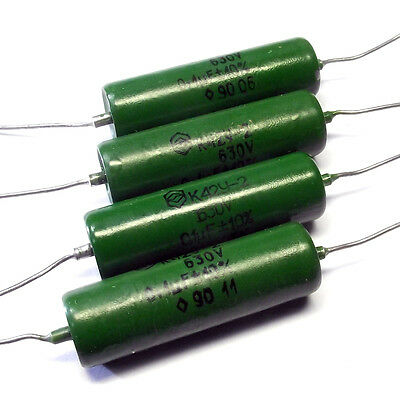 10 * K42Y-2 PIO capacitors / 630V / 0.1uF / MATCHED BY PAIRS / QUADS